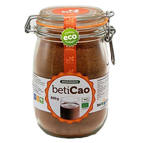 BetiCao Cacao Soluble Instantáneo Ecológico 800 gr 100{ee92fe8fb861f0ac6d570b4d672d85e5ba89476fe16e154c012b40a29a8e7844} BIO