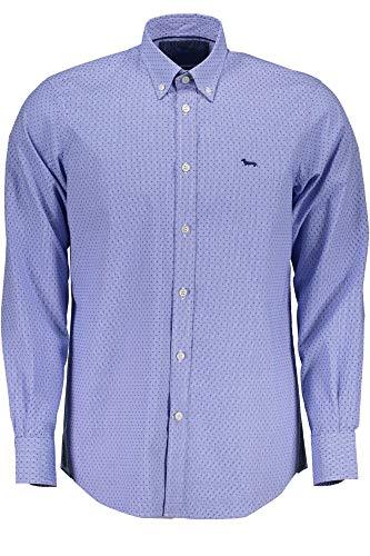HARMONT & BLAINE CRA012002197 Camicia Maniche Lunghe Uomo Azzurro 805 L