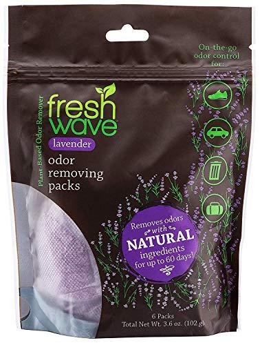 Fresh Wave Lavender Odor Eliminating & Deodorizing Packs, Bag of 6
