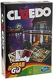Hasbro Gamings - Cluedo Viaje, Grab & go (versión Inglesa)