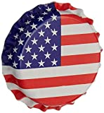 North Mountain Supply Beer Bottle Crown Caps - American Flag - Oxygen Barrier - 500 Count