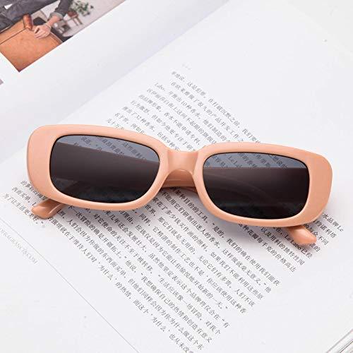 Moda Diseñador De Lujo De La Marca Gafas De Sol para Mujer Gafas De Sol Cuadradas Pequeñas con Montura De Pc Gafas De Moda Vintage 2