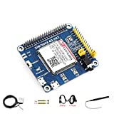 waveshare 4G / 3G / GNSS HAT for Raspberry Pi Zero/Zero W/Zero WH/2B/3B/3B+/4B,Jetson Nano Based on SIM7600A-H Supports Dial-up, Telephone Call, SMS, MMS, Mail, TCP, UDP, DTMF, HTTP, FTP