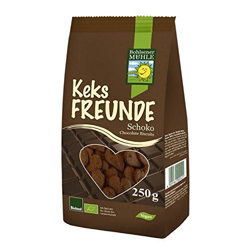 Bohlsener Muehle Bio Keks-Freunde mit Schokolade, 250g