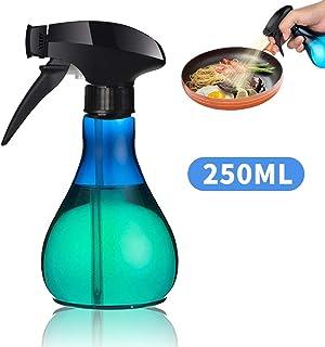 Dispensador De Aceite 250 Mililitros, Botella Spray Pulverizador De Cocina Para Rociar Oliva, Agua, Vinagre, Jugo, Vino