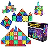 Desire Deluxe Kit Bloques de Construcción Magnéticos 3D para Niños y Niñas de 3 4 5 6 y 7 Años - Juguete Educativo con Figuras Geométricas para Desarrollar la Creatividad de Sus Pequeños - 47 Piezas