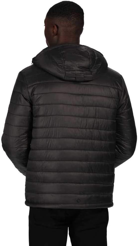 Regatta Herren Volter Loft Lightweight Water Repellent Insulated Hooded Heated Jacket Jacke
