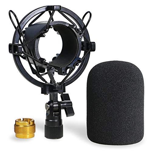 AT2020 Arana Para Micrófonos y Pantallas Antiviento - la Arana para Reducir el Ruido de Vibración...