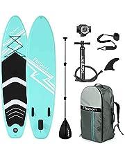 FBSPORT Tabla Sup Hinchable, Tabla de Surf Hinchable, Tabla Inflable de Paddle Surf, Sup Kit con Remo de Aluminio+Accesorios Completos | Varias Medidas: 300×76×15cm/320×78×15cm