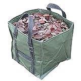 ZHANGKAIXUAN 252L Bolsa de Hoja de jardín Reutilizable de 252L Contenedor de jardinería con manijas Césped Emergente (Color : Army Green)