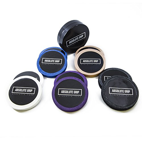 Absolute Grip Athletic Tape for BJJ, Judo, Climbing, Crossfit. (with Free CASE)