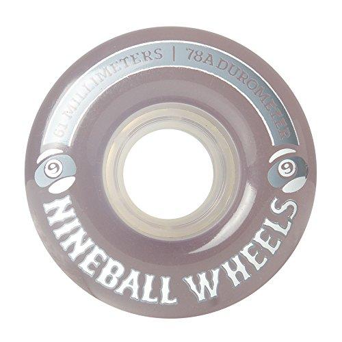 Sector 9Nine Balls Skateboard Wheel, Fumo, 61mm 78A