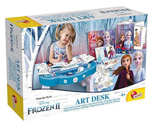 Liscianigiochi- Elsa Frozen 2 Pupitre Creativo, Multicolor (73719)