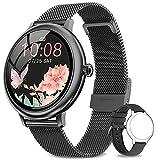 NAIXUES Smartwatch Mujer, Reloj Inteligente Impermeable 67,...