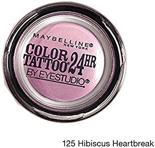 Maybelline Eyestudio Color Tattoo 24HR Eyeshadow 125 Hibiscus Heartbreak