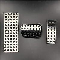 FLJKCT カースタイリング燃料ブレーキペダルケース、ベンツ用W176 W245 W246 W251 W164 W166 X164 X166 C177 X156 AB CLA GLA ML GLRクラス