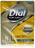 Dial for Men Odor Armor Antibacterial Soap, 4 Ounce, 8 Count