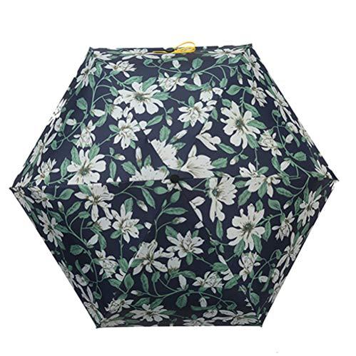 Regenschirm Leichte Ultra Mini Sonnenschirm Zusammenklappbare Tasche Sonne Ultra Leicht Anti-uv Taschenregenschirm E3