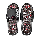 Anself Akupressur Massage Slipper Fußmassagegerät Hausschuhe Schuhe für Männer Frauen - L...