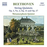 Beethoven: String Quintets Op. 1, No. 2, Op. 11 and Op. 17 (2006-08-01)