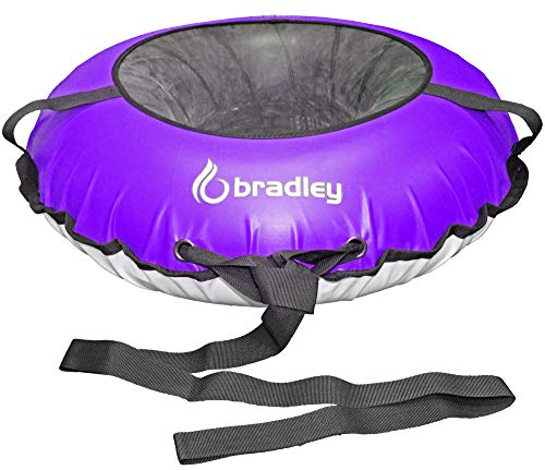 Bradley Kids Snow Tube with 42  Heavy Duty Cover | Tow Leash | Made in USA