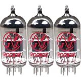 JJ 12AX7 / ECC83 Preamp Vacuum Tubes (Three Pack)