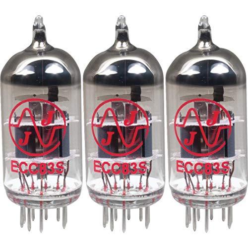 JJ Electronic 12AX7 ECC83 Válvulas de Vacío Testeadas (Pack de 3 Unidades)
