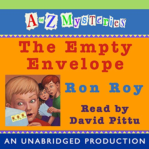 A to Z Mysteries audiobook cover art