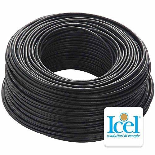 Cable Icel–eléctrico unipolar aislante fs17para instalaciones hogareñas o empresas de construcción. Bobina de 100 metros.