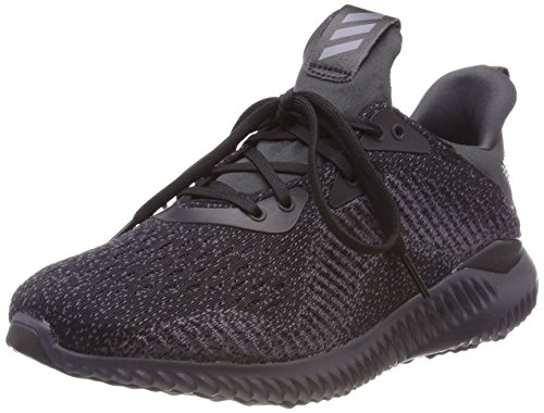 adidas Men's Alphabounce Em Competition Running Shoes, Black (Cblack/Ngtmet/Carbon 000), 10 UK