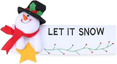 dressplus 24 guantes de 16 cm para manija de puerta, para frigorífico, Navidad, frigorífico, frigorífico, lavavajillas, puerta de Papá Noel, horno de microondas (derecho)