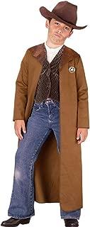 Fun World Boys Old West Sheriff Costume, Multicolor, Medium 8-10