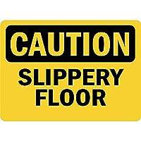 注意滑りやすい床錫サイン壁の装飾金属ポスターレトロプラーク警告サインオフィスカフェクラブバーの工芸品