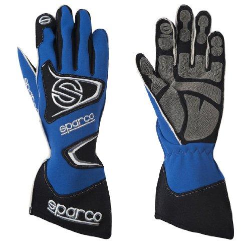 Sparco 0025608AZ Tide K-9H Blue Size-08 Karting Gloves