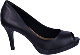 Sapato Peep Toe Via Marte Napa New 16-14001