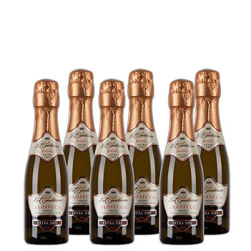 Prosecco Spumante Treviso DOC extra dry 1/2 Flasche Italien trocken (6x 0.37 l)