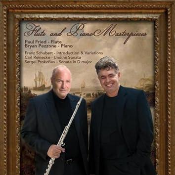 Flute and Piano Masterpieces: F. Schubert - S. Prokofiev - C. Reinecke