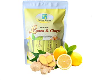 Lemon Ginger Tea, Ginger Tea Bags with Honey