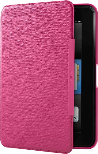 Official Kindle Fire 8.9 HD Standing Leather Case (Bulk Packaging) (Fuschia Pink)