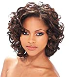 Best African American Wigs - Short Curly Wigs for Black Women Brown Wavy Review