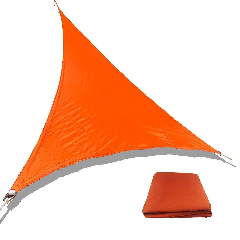 ToomLight Sun Shade Sail,Triangle Sun Protection Canopy, Garden Courtyard Shade Sails, Polyester Cloth Waterproof Shade Sails, Triangle Sail Metal Buckle Model cdw229329