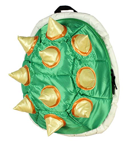 Super Mario Bros. Bowser King Of The Koopas 3D Spiked Shell Padded Laptop Backpack