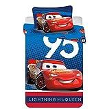 Biancheria da letto per bambini Disney Cars 100 x 135 cm + 40 x 60 cm