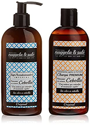 Nuggela & Sulé: 1 Champú de cebolla + 1 Supra-acondicionador