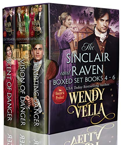 The Sinclair & Raven Series: (Books 4-6) A Regency Romance Collection (English Edition)