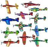 THE TWIDDLERS 48 Planeadores Voladores de Aviones de Papel - Fácil de Montar - Avión Juguetes para Niños Cumpleaños, Piñata, Premios, Bolsas Fiesta, Sorpresas Regalo.