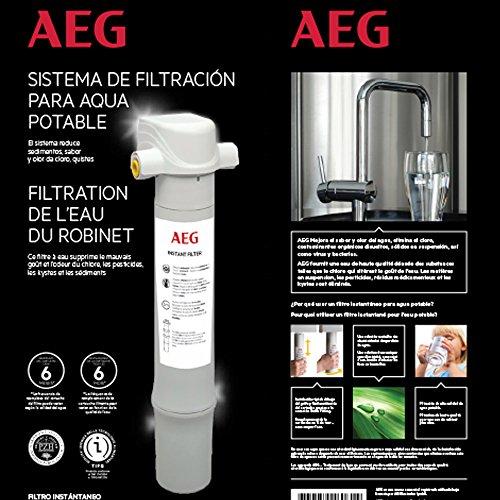 AEG FF Filtro Istantaneo da Installare sotto Il Lavandino, Blanc