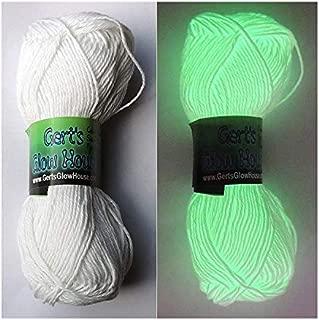 Glow in the Dark Yarn - 120 Yards per roll - Fingering Weight