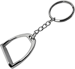 CUTICATE 1 Piece Key Chain Western Novelty Spurs Bits Equine Gift Horse Riding Accessories