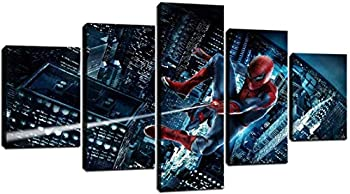 Spiderman Canvas Wall Art for Children s Room Kid Room Home Decor Modern HD Printed Painting Picture for Room Decoration  Unframed-No Framed,S